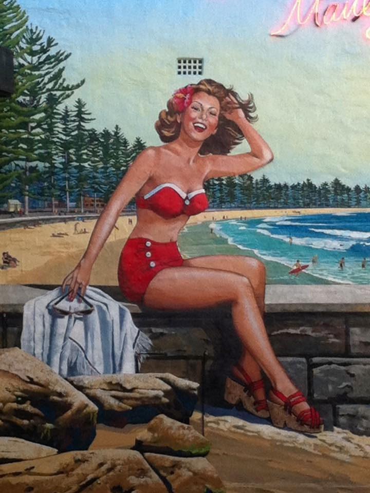Manly Beach Girl