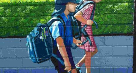 Drummoyne school - local and historic mural